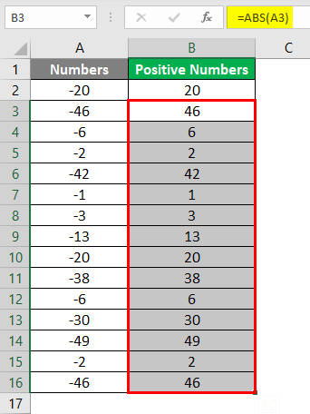 Negative numbers into Positive 4-5