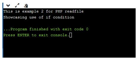 php readfile 2