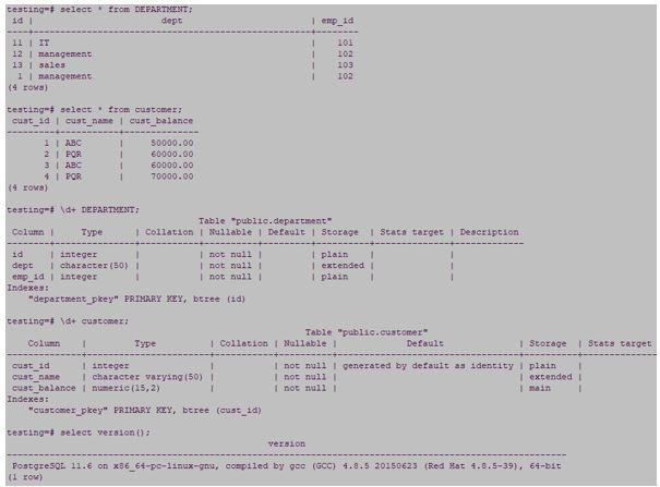 postgreSQL cross join 1