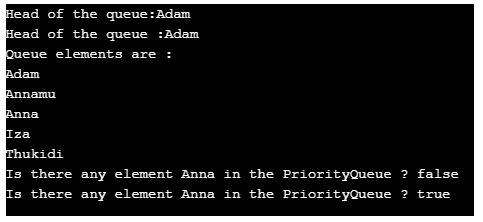 priorityQueue in Java 3