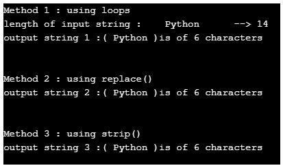 python trim string 1