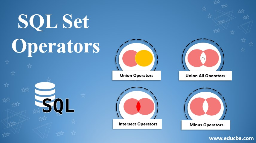 sql set operators