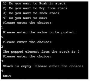 stack in c++ 2