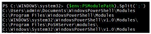 string in powershell 4