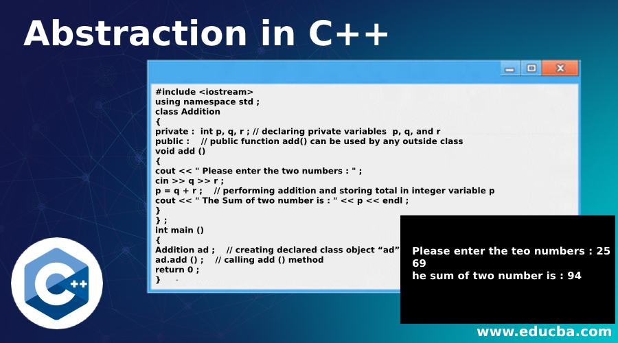 Abstraction in C++