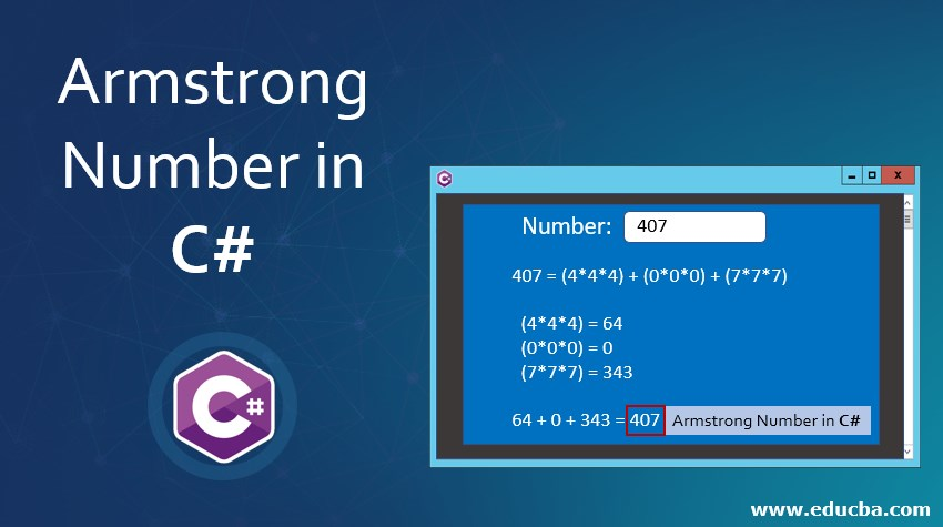 Armstrong Number in C#