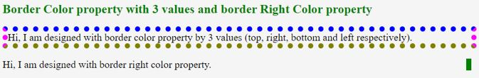 CSS Border Color3