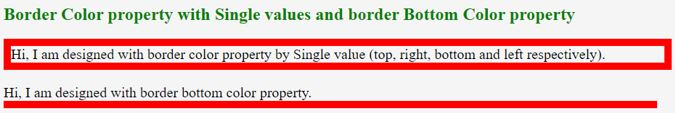 Property with Single Value