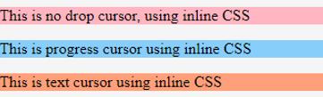 CSS Cursor - 3