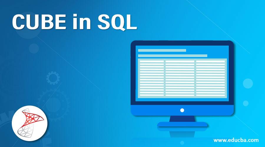 CUBE in SQL
