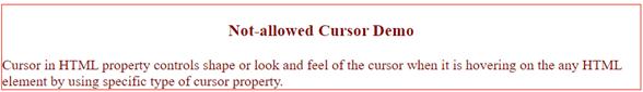Cursor in html - 38
