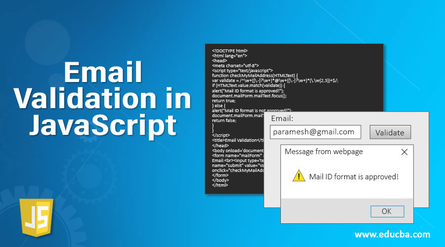 Email-Validation-in-JavaScript