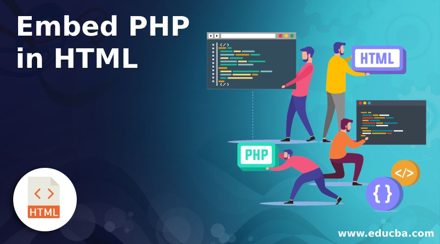Embed PHP in HTML