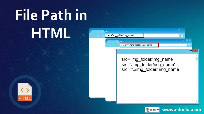 File Path in HTML