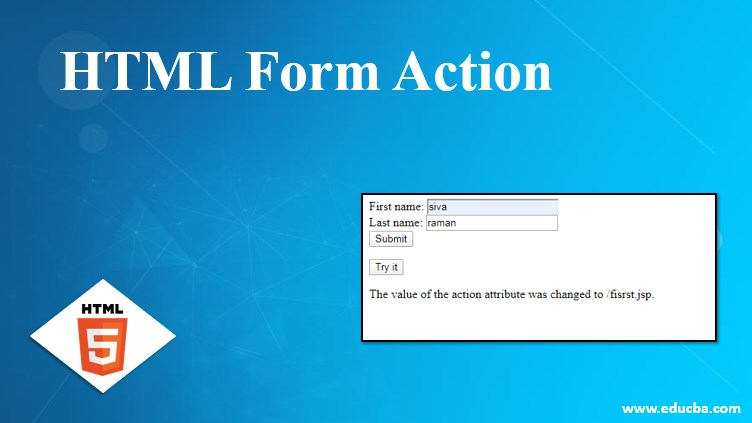 HTML Form Action