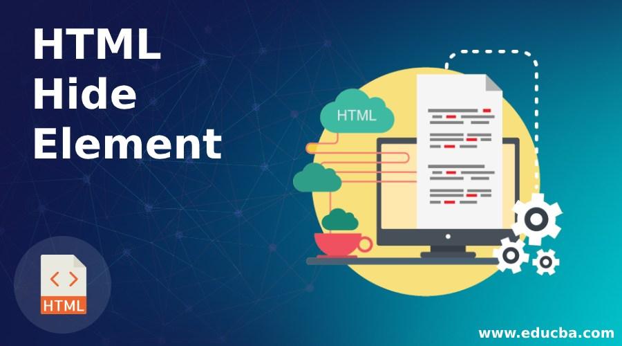 HTML Hide Element