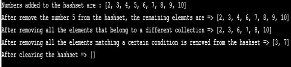 HashSet in Java - 4