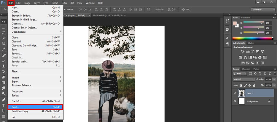 How to Print in Photoshop - 11