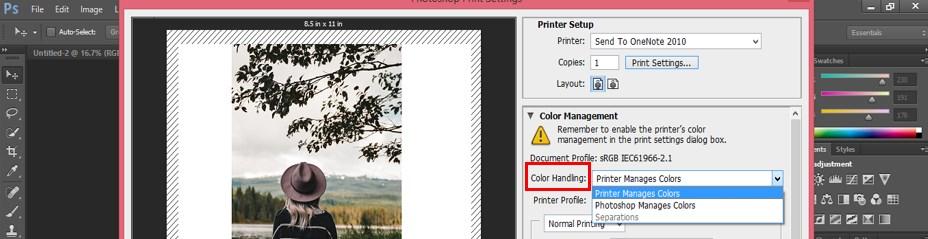 Color Handling