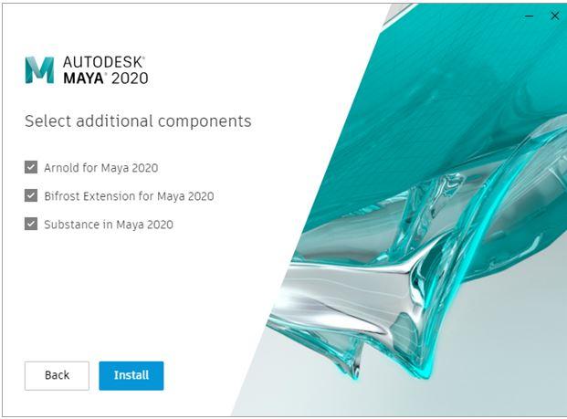 Install Maya - 2