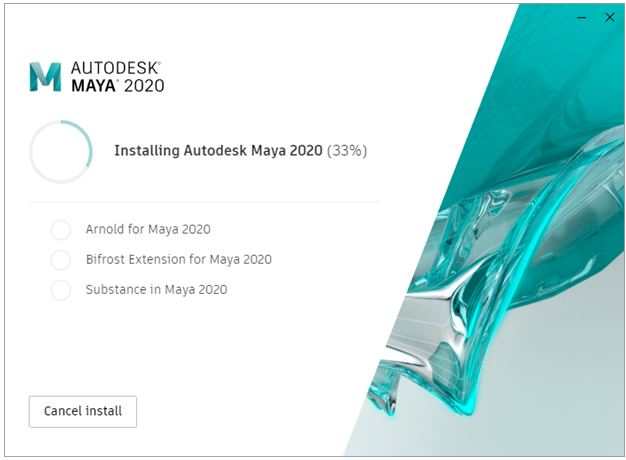 Install Maya - 3