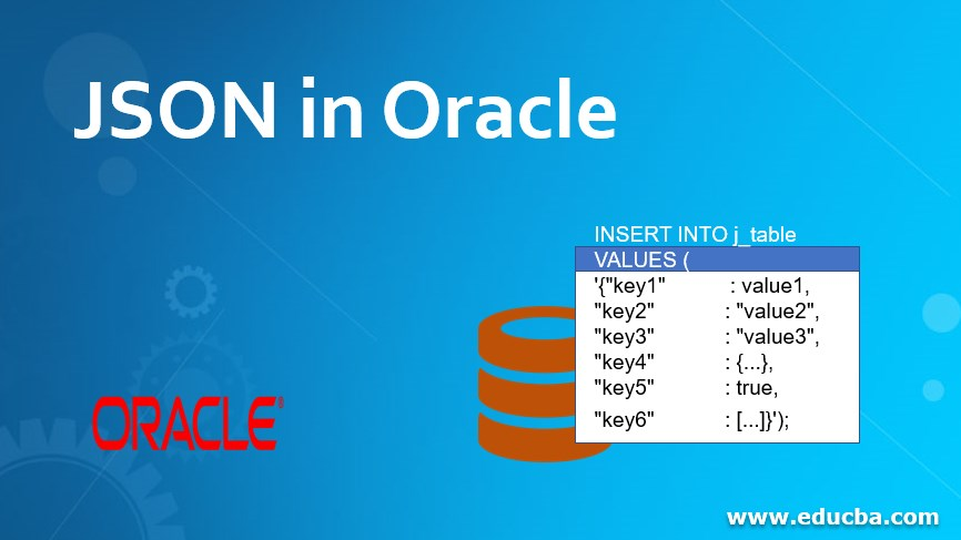 JSON in Oracle