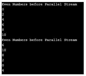 Java Parallel stream 3
