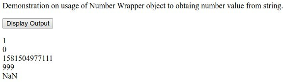 JavaScript String to Number Example 1