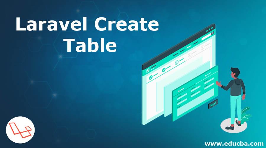 Laravel Create Table