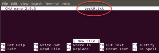 Linux Create File Example 3