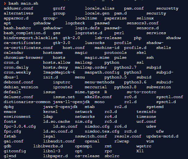 Linux Directory Structure Example 2