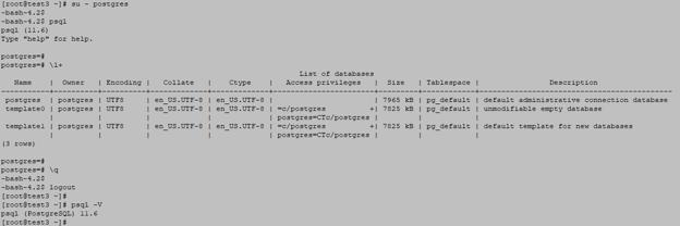 Login to PostgreSQL database