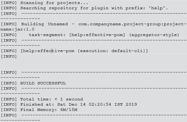 Maven POM File-1.1