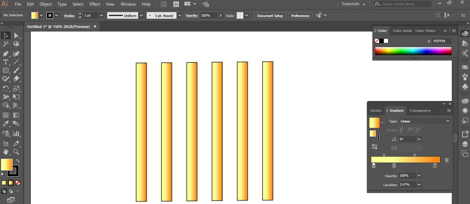 Metal Effect in Illustrator - 12