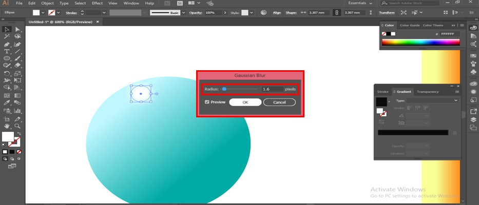 Metal Effect in Illustrator - 22