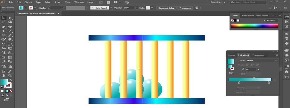 Metal Effect in Illustrator - 26