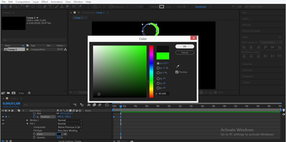 Motion Graphics in After Effects - 23