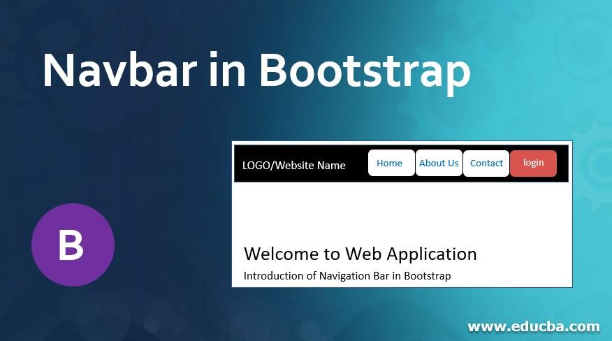 Navbar in Bootstrap