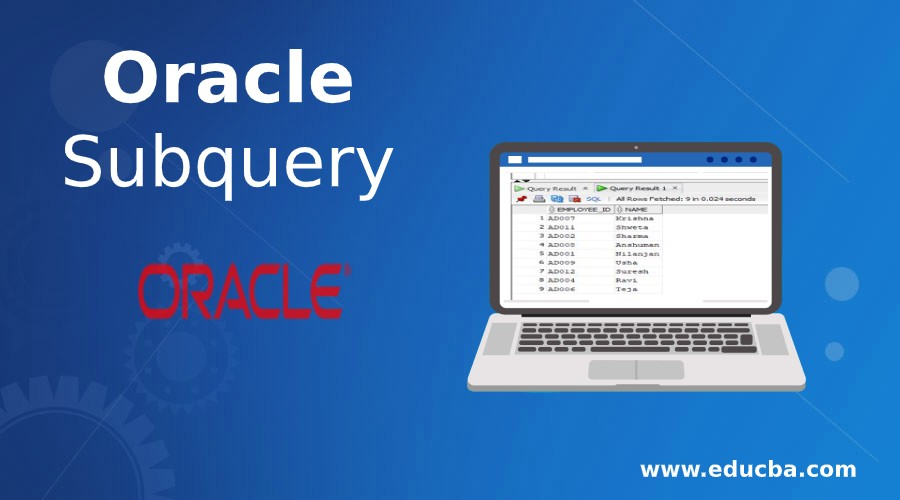 Oracle Subquery