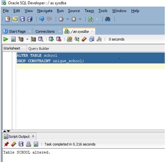 Oracle UNIQUE Constraint 4