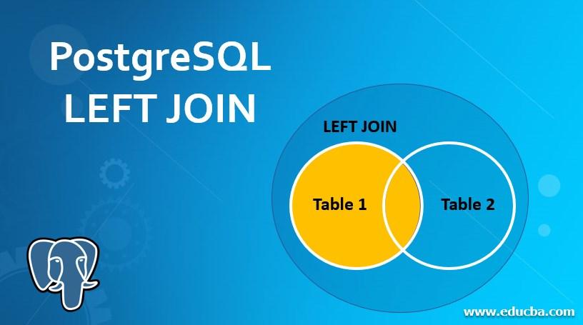 PostgreSQL LEFT JOIN