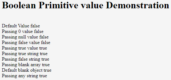 Primitive Data Types in JavaScript Example 1