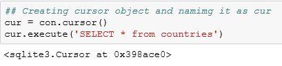 Python SQLite1
