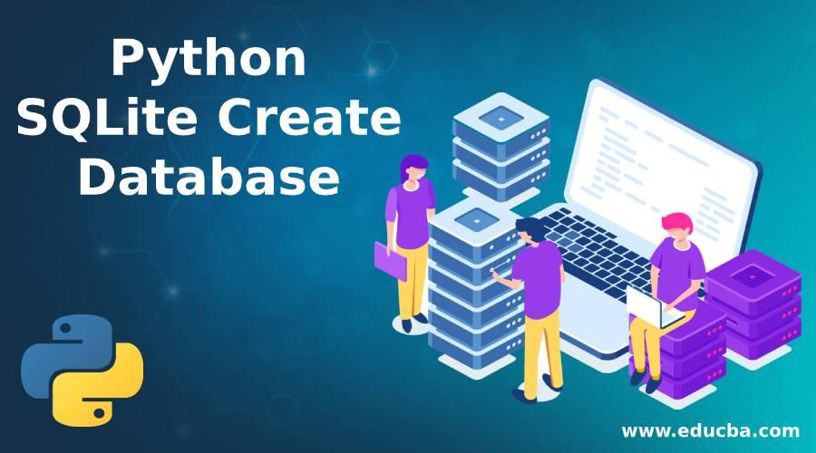 Python sqlite create database