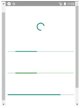 React Native Progress Bar example 2