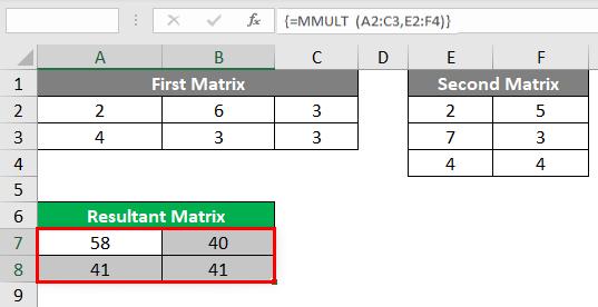 Resultant-Matrix