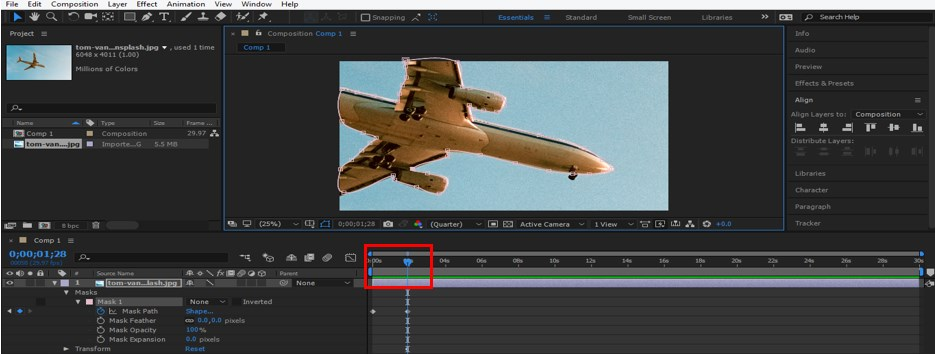 Rotoscoping in After Effects - 10