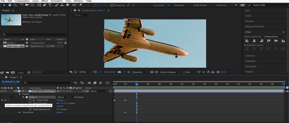 Rotoscoping in After Effects - 11