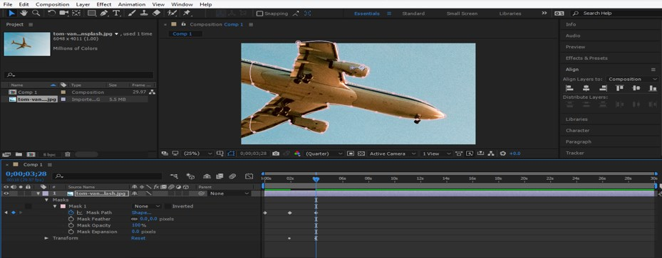 Rotoscoping in After Effects - 12