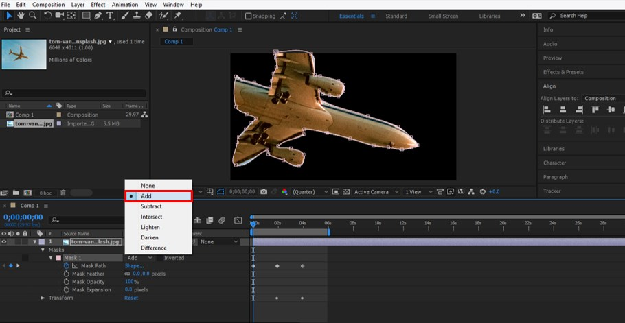 Rotoscoping in After Effects - 13